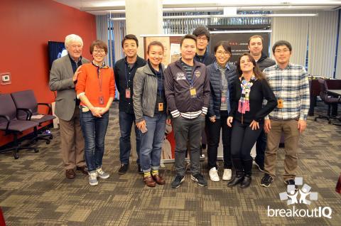 BreakoutIQ Lab party