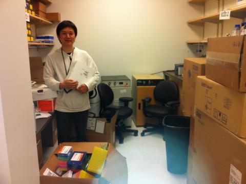 Kajimura lab at UCSF started in May 2011