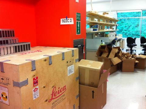 Chaos in the lab: Kajimura lab started in May 2011