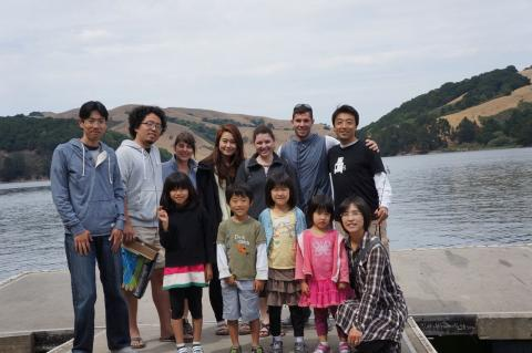 Lab fishing trip in the East Bay, August 2014
